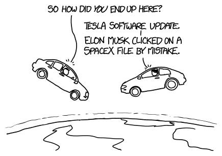 Elon Musk (INTJ) SpaceX Tesla funny comic
